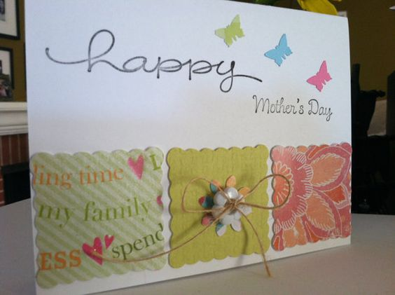 Whimsy Mothers Day Card by papermooncottage on Etsy, $2.75