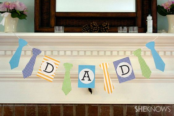 diy father's day banner