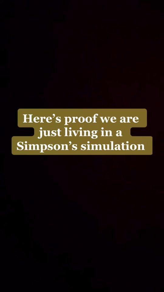 Simpson S Predict Simpsons Simulation Tiktok Watch Simpson S Predict S Newest Tiktok Videos Di 2021