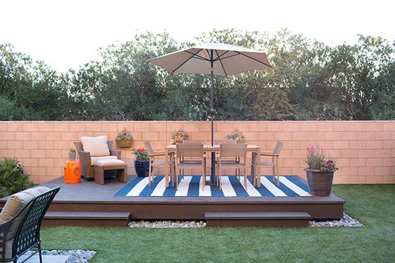 How to Build a Floating Deck - The Home Depot - Home Improvement ...
