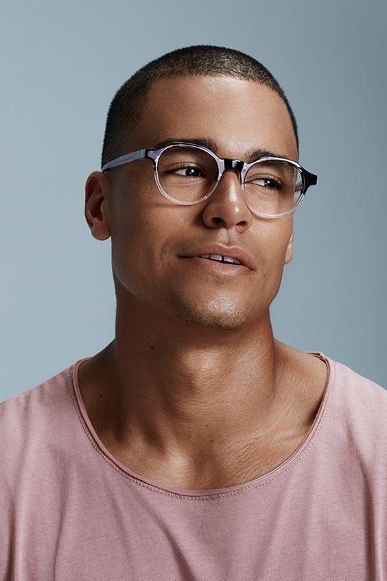Oculos De Grau Masculino Redondo Cheio De Estilo Oculos De Grau