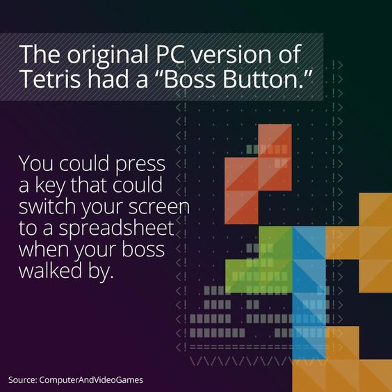 I learned something cool on the @curiositydotcom app: The Classic Video Game Tetris
