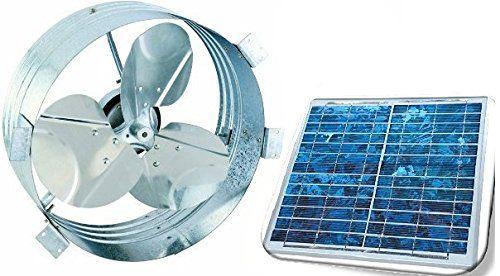 15 Smart Ideas For Better Shed Ventilation 10 Is The Best Solar Powered Fan Solar Power Attic Fan