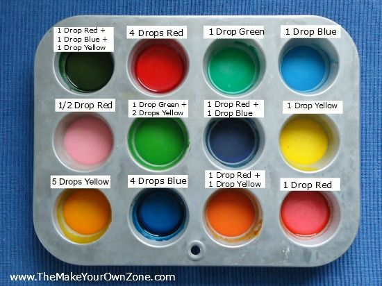 How To Make Homemade Watercolor Paints Ingredients: Mix 4 Tablespoons Baking Soda 2 Tablespoons White Vinegar Add 1/2 Teaspoon Light Corn Syrup 2 Tablespoons  Corn Starch Pour into containers and add food coloring let dry out may need to add more cornstarch if adding more than two drops of food coloring