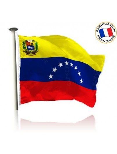 Drapeau Venezuela Made In France by Manufêtes