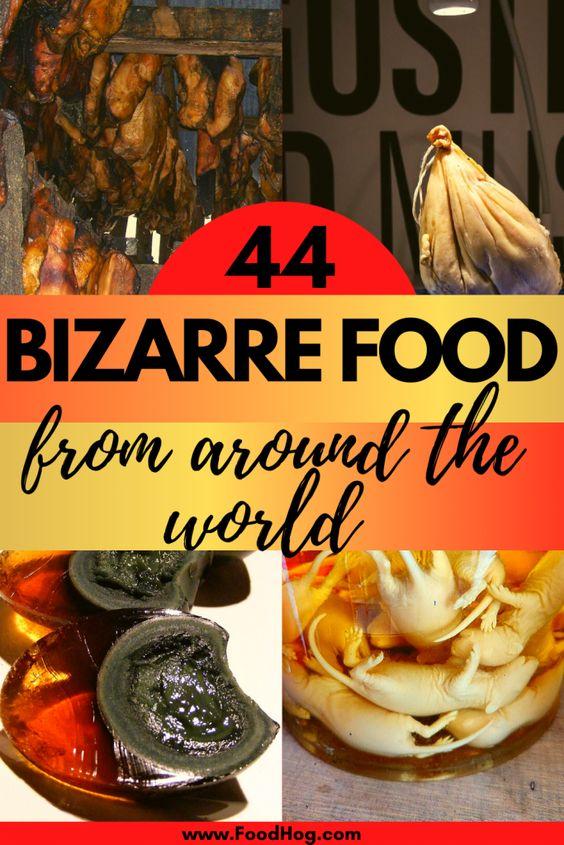 WORST FOOD FROM AROUND THE WORLD