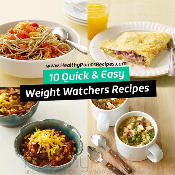 About This Page & Old Points. Please know, recipes on this page are sorted using the Weight Watchers