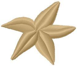 Star Fish - Mini | Ocean/Nautical | Machine Embroidery Designs | SWAKembroidery.com