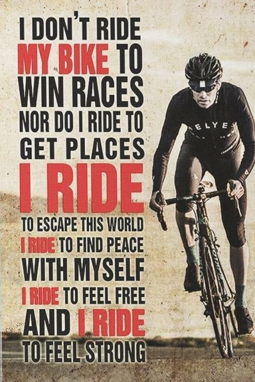 This Is Also Why I Run Biking Quotes Cycling Cycling Quotes