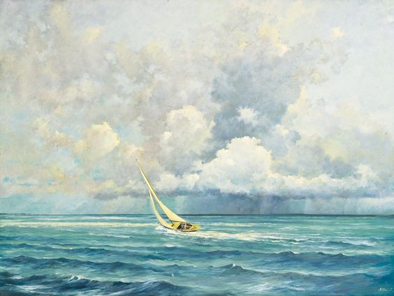 sloane, eric ahead of the squall | maritime | sotheby's n09484lot75m85en: