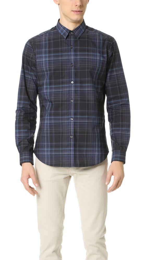 THEORY Zack Aviston Shirt. #theory #cloth #shirt