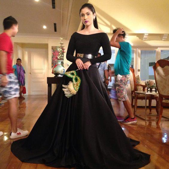 """Lauren Young as Antonia  Thank you Saturday Dress Manila and Roel Rosal  #Marimar2015"""