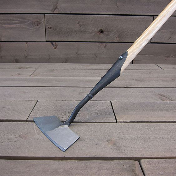 Want Forged Dutch Push Hoe by DeWit Garden Tools pottinggarden