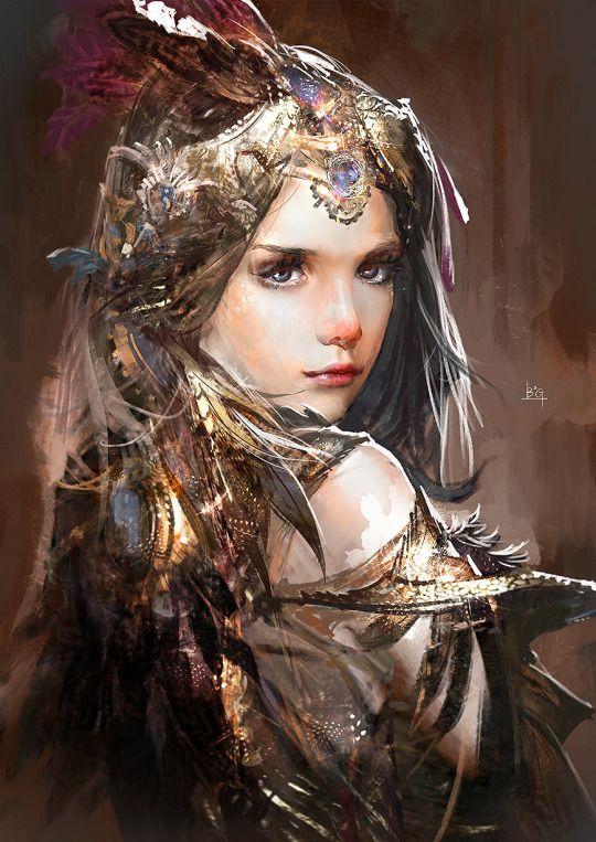 Galeria de Arte: Ficção & Fantasia (2) - Página 4 F3b76d963965f22eb520f4b7bc47d003