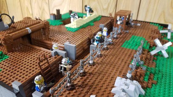 Bricks: Lego doodles POST THEM, by Dienekes22