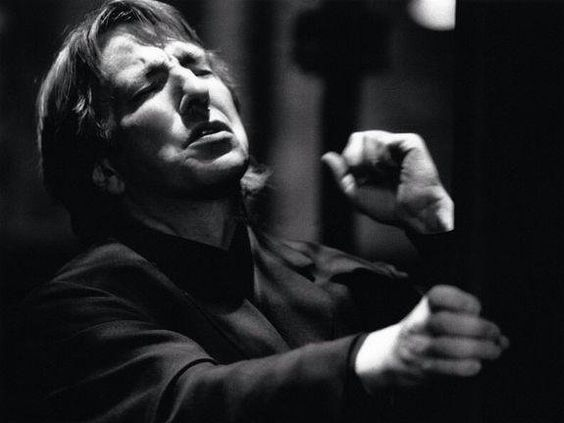 Alan Rickman. 'Hamlet' Riverside theatre, Nottingham, 1992: