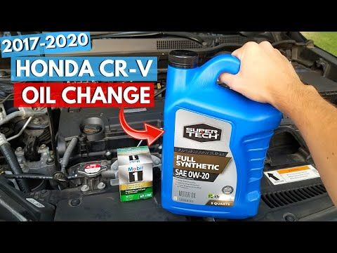 2017 2020 Honda Cr V Oil Change How To Jonny Diy Youtube Honda Crv Honda Cr Oil Change