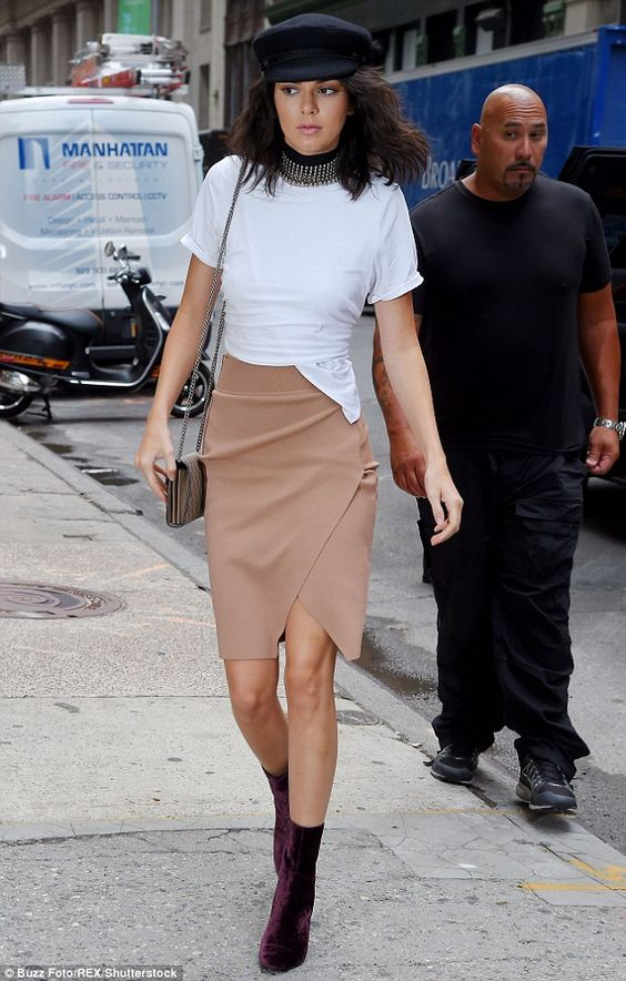 Back at it: Kendall Jenner looked stylish as she headed out in New York City on…