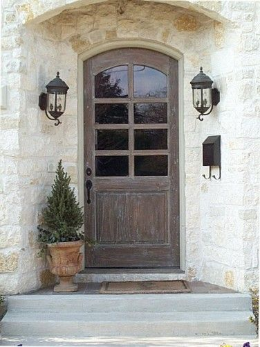 Doors front doors and natural wood stains on pinterest for Natural wood front door