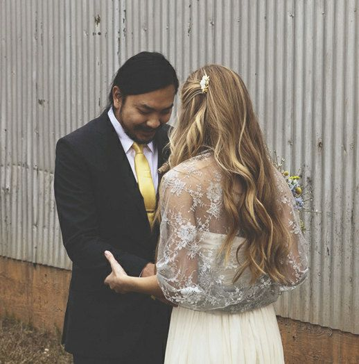 Rustic Wedding Silver Bridal Shrug- Shawl For Bride. Evening Dress ...
