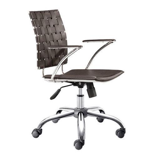 dCOR design High-Back Criss Cross Office Chair & Reviews | Wayfair