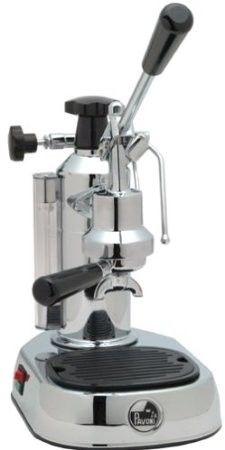 La Pavoni EPC-8 Europiccola Manual Espresso Machine - Chrome
