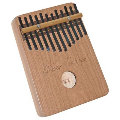 Zither Heaven Twelve Note Cherry Thumb Piano