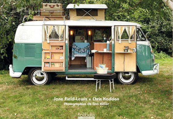 retro volkswagen | Camping-cars rétro - Les plus beaux camping-cars vintage - accessoire ...