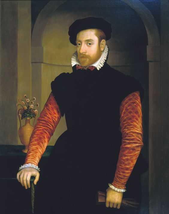Nicolas Neufchatel (1527-1590) - Portrait of a Man | From a unique collection of paintings at http://www.1stdibs.com/art/paintings/