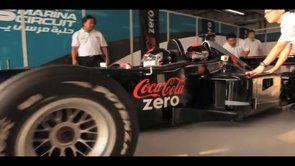 Coca-Cola Zero em Abu Dhab. Experiência criada e produzida para a JWT. Pela primeira vez desde sua inauguração, o autódromo de Abu Dhabi foi utilizado para uma ação de ativação de marca.