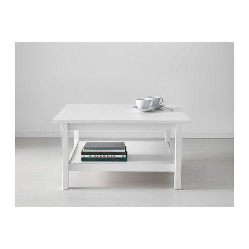 HEMNES Mesa de centro - velatura branca - IKEA