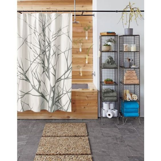 Arbors, Shower curtains and Curtains on Pinterest
