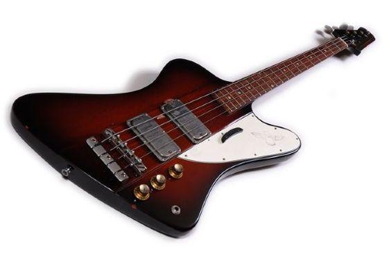 Gibson Thunderbird Sunburst límite Edición 76