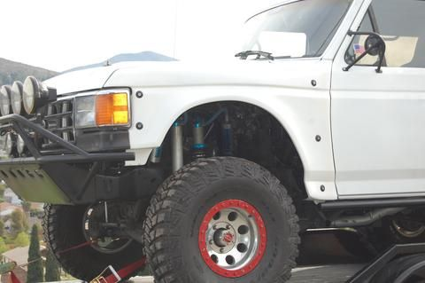 87 91 Ford Bronco Drop Center Off Road Fiberglass Hood Classic Trucks Classic Chevy Trucks Ford Trucks