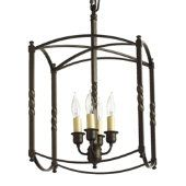 Carriage house lantern from Ballard Designs small $129 & can be flush mounted