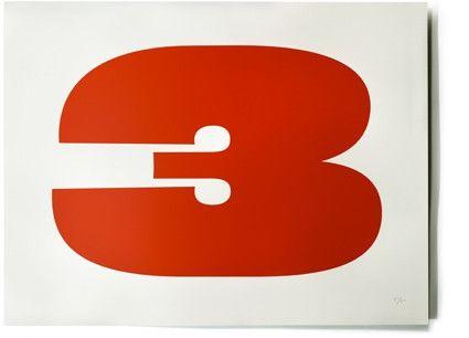 Eames 3 Serigraph