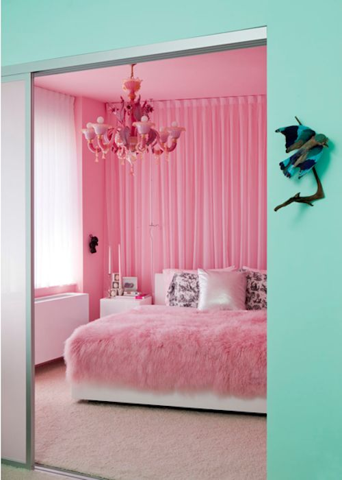 Sea Foam + Pink. Makes Me Think Of Valley Of The Dolls | Interiors I Dream  Of | Pinterest | Pink Room, Sea Foam And Room
