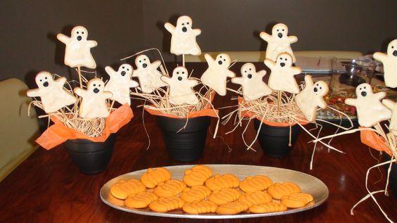 Ghosts and Pumpkins
