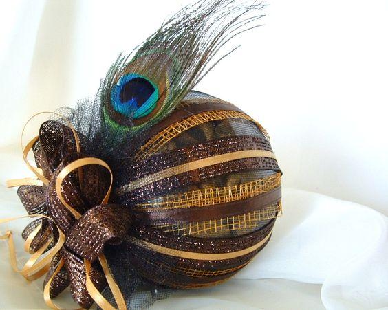 Peacock+Christmas+Ornament+Custom+Christmas+Bulb+by+LalaDangerous,+$18.95