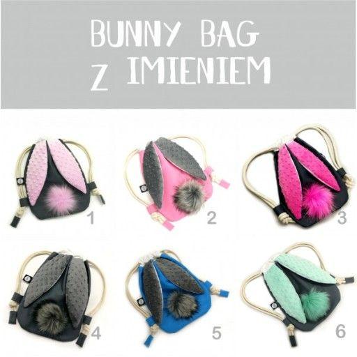Plecak Na Kapcie Krolik Mini Z Haftem Imiennym Kids Backpacks Faux Cactus Baby Bib Tutorial