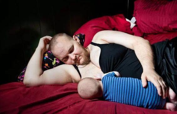 Mi novio está embarazado: tras años de lucha este joven transgénero por fin pudo dar a luz