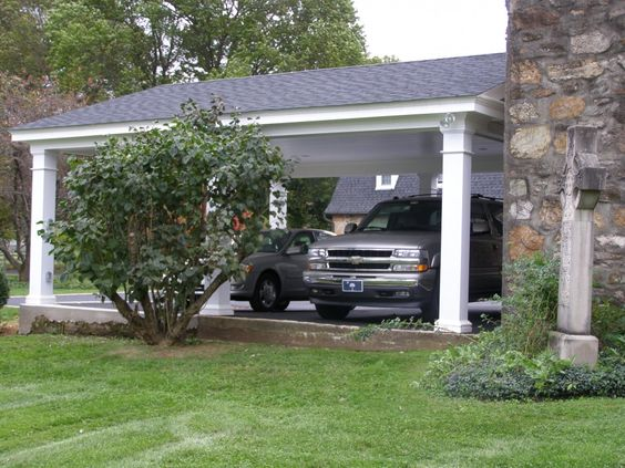 Decent Pergola Garage Ideas Traditional Cars And End Of