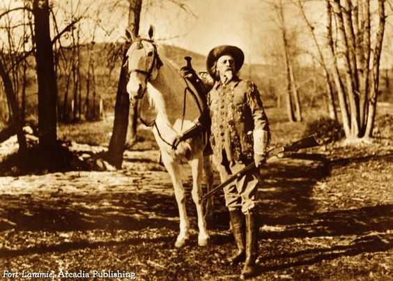 """On this Day in History, April 3, 1860: The first Pony Express mail traveled by horse and rider relay teams. Col. William """"Buffalo Bill"""" Cody (pictured) became a Pony Express rider at age 15, and claimed to have arrived at a relay station to find the relief rider dead, whereupon he mounted a fresh horse, rode to the next station, and made the return ride, covering a distance of around 325 miles."""