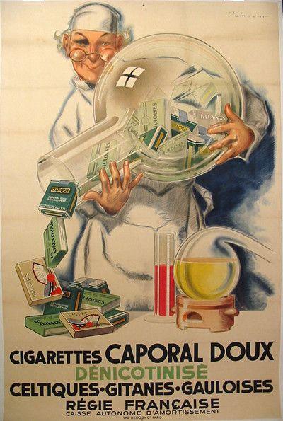 Pub cigarettes CAPORAL