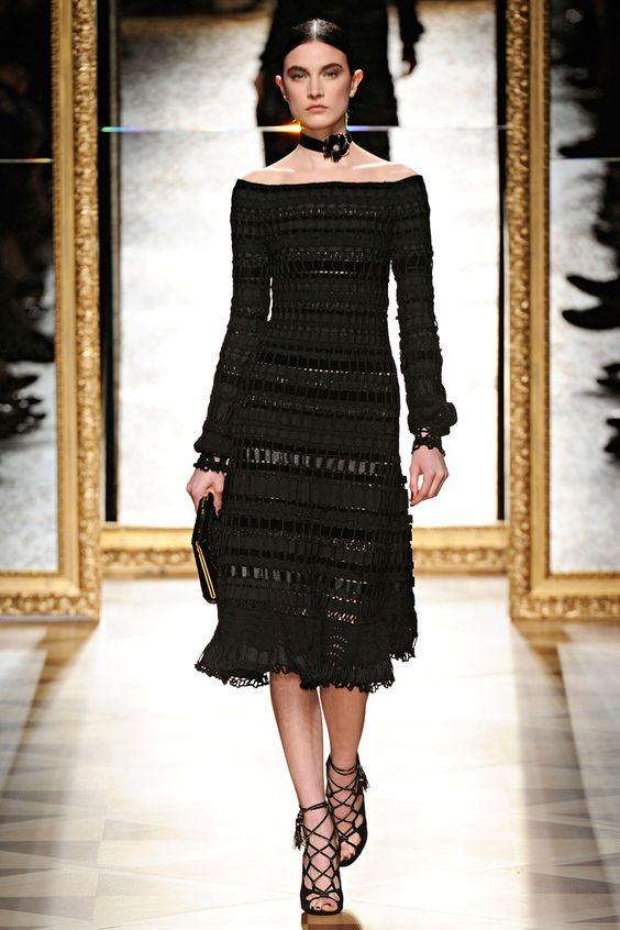 Salvatore Ferragamo dress (Fall 2012 Runway)