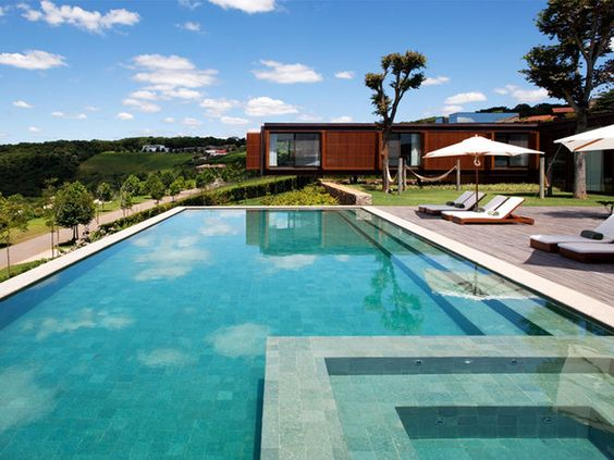 60 Of The Most Spectacular Contemporary Pools Presented on | Contemporary,  Backyard and Outdoor living