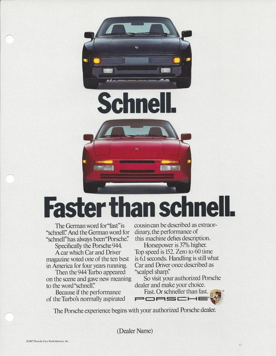 Faster than schnell