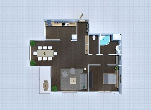 Floor Plans And Interior Design Planner 5d In 2021 Interior Design Floor Planner 30x50 House Plans