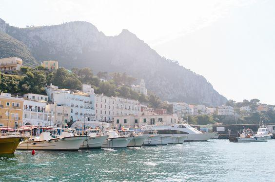 We heart Capri | Photo: Natasha Lee #italy #amalficoast