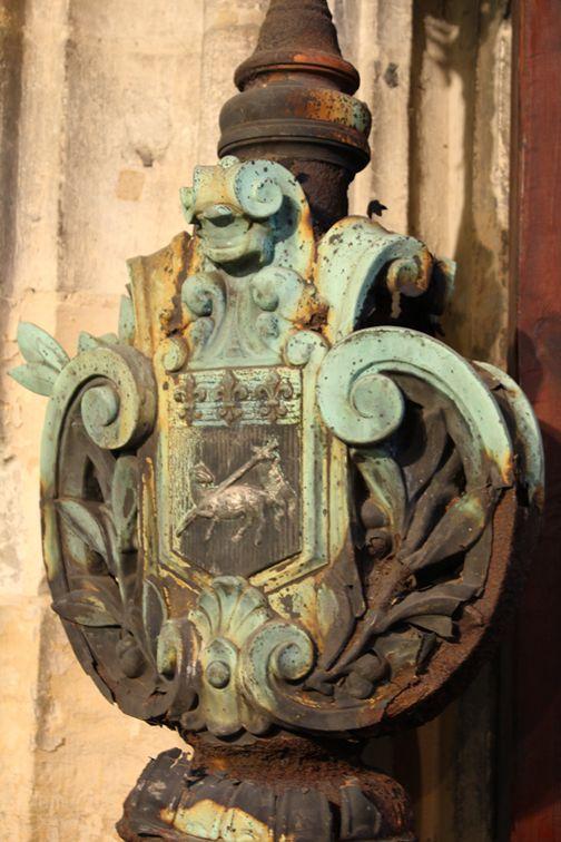 Beautiful Iron Coat of Arms